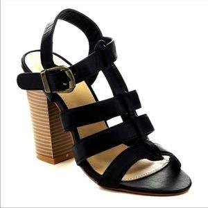 New Stacked Heel sandal